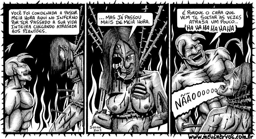 Inferno Plantonista Atrasada Capeta 01
