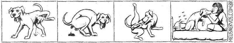 Beija cachorro 01